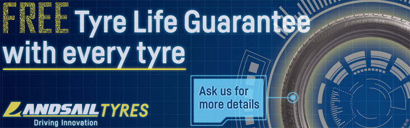 Lifetime Tyre Guarantee